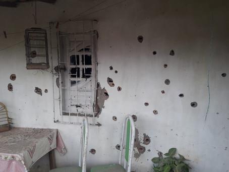 Após intensa troca de tiros com a polícia, dois homens são mortos em Heliopolis
