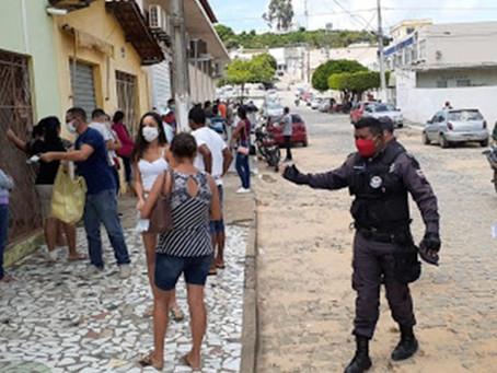 Estabelecimentos que permitirem entrada de pessoas sem máscaras serão multados em Cícero Dantas
