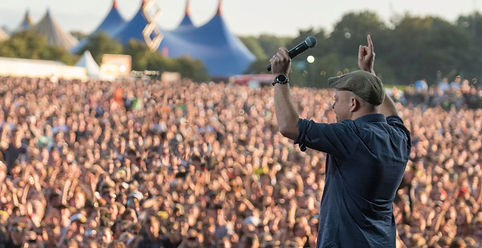 James Gill at Leeds Festival