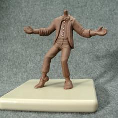 Michael Jackson Bobblehead Body Sculpt