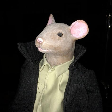 Mouse Shoulder Puppet