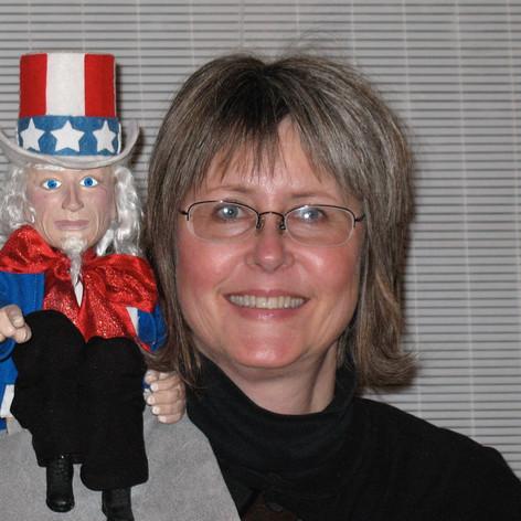 Uncle Sam Shoulder Puppet