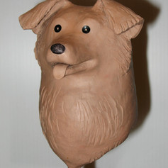 Macquette of Dog Puppet