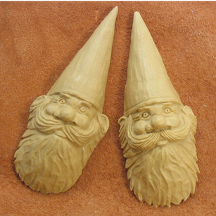 Walnut Gnome House Art
