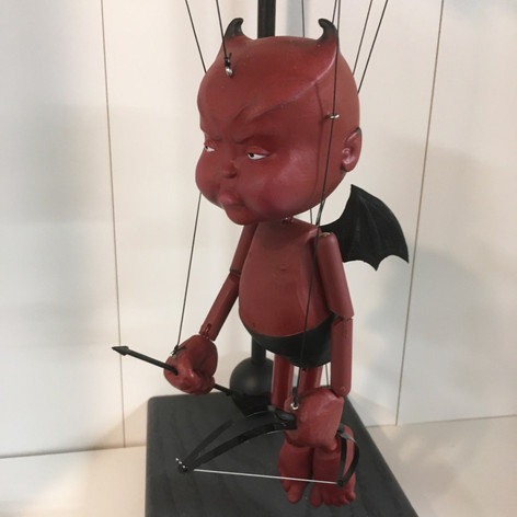 Devil Baby cupid Marionette