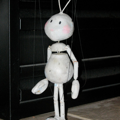 First Chamois Marionette