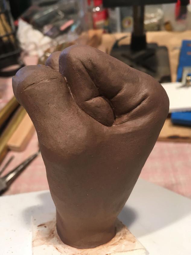 Fist Sculpt
