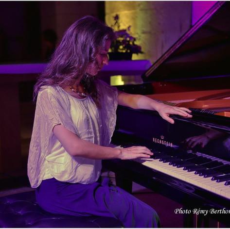 Recital in Saint-Savin, France. August 2016