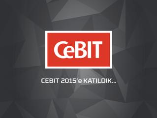 CEBIT Hannover 2015'e Katıldık