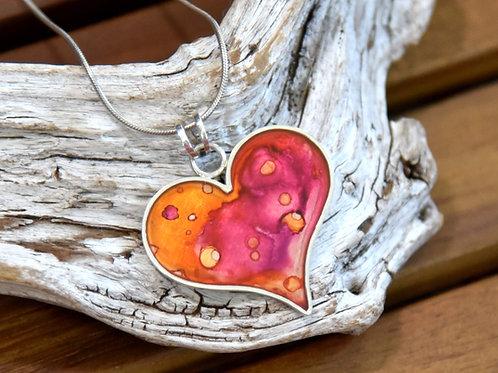 Inge Riedel Heart Pendulum Pendant