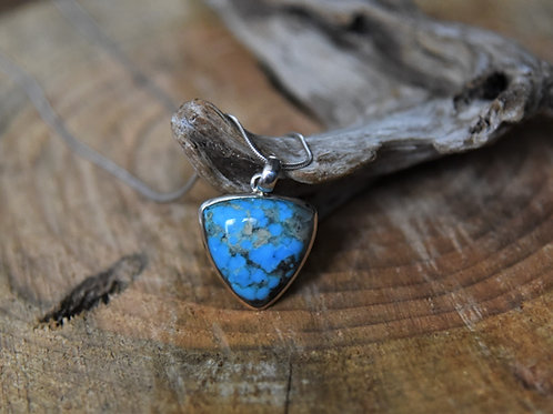 Blue Copper Turquoise Pendant