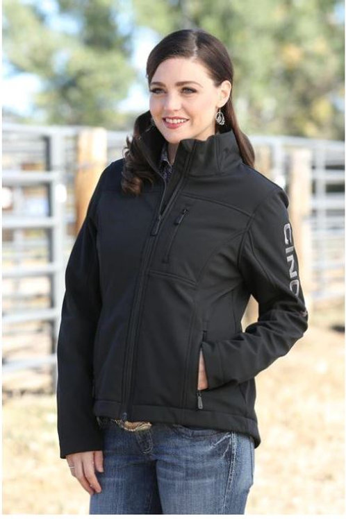 Cinch Women's Jacket - Bonded Concealed Carry Black Jacket