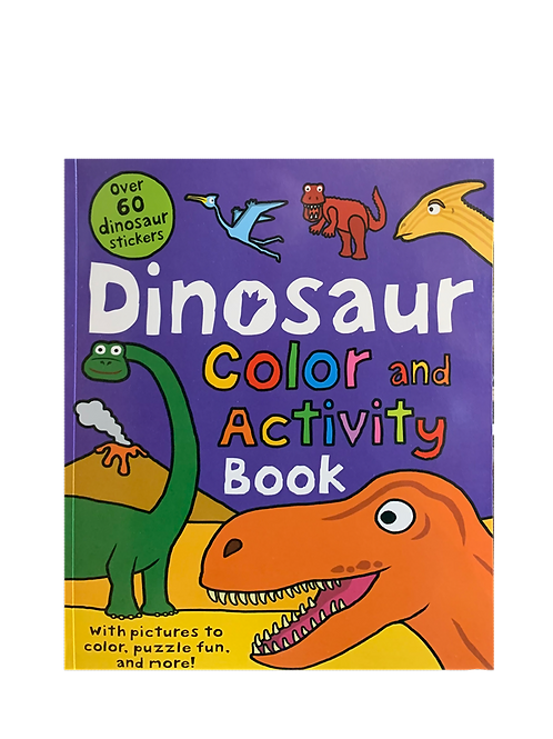 Color and Activity Books Dinosaur - by Roger Priddy