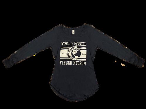 Women's World Fossil Finder Museum Long Sleeve T-Shirt