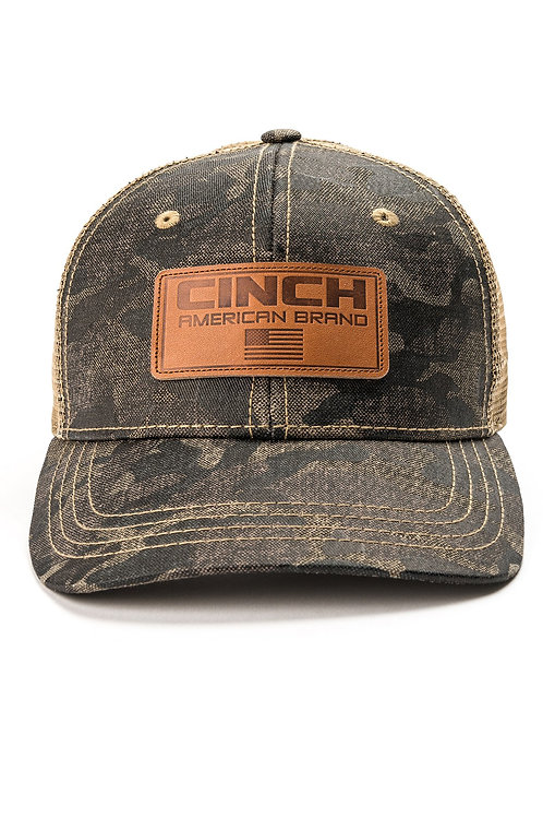 MENS CAMO TRUCKER CAP