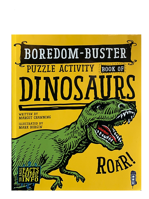 Boredom-Buster Puzzle Activity Book of Dinosaurs