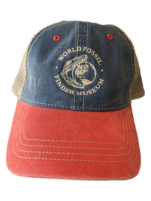 Jean World Fossil Finder Museum Mesh Hat