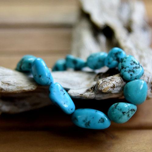 Kingman Turquoise Bracelet