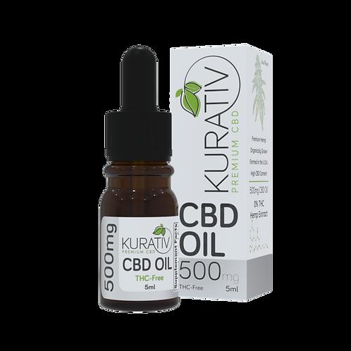 THC-free CBD Oil - 500mg