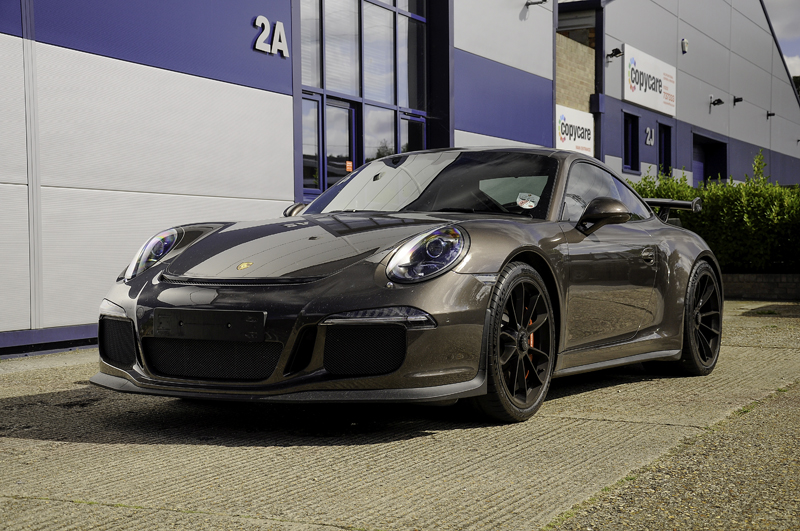 Porsche GT3 RS - Correction