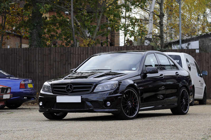 Mercedes-Benz C63 - Correction
