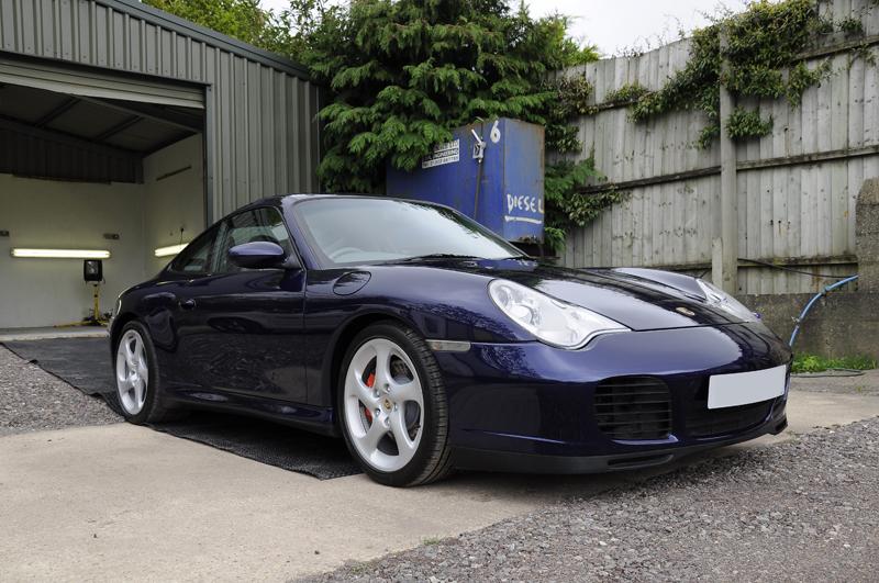 Porsche 911 - Correction