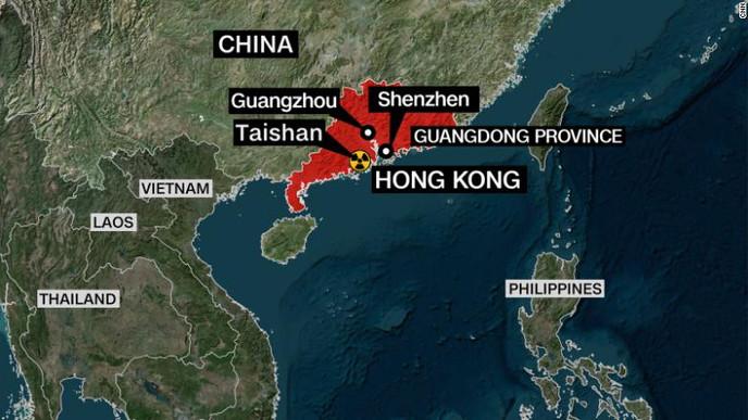 Estados Unidos evalúa fuga reportada en instalación de energía nuclear china