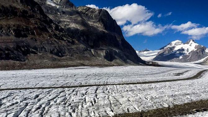 Los glaciares suizos perdieron el 1% de su volumen pese a las nevadas y a un verano frío