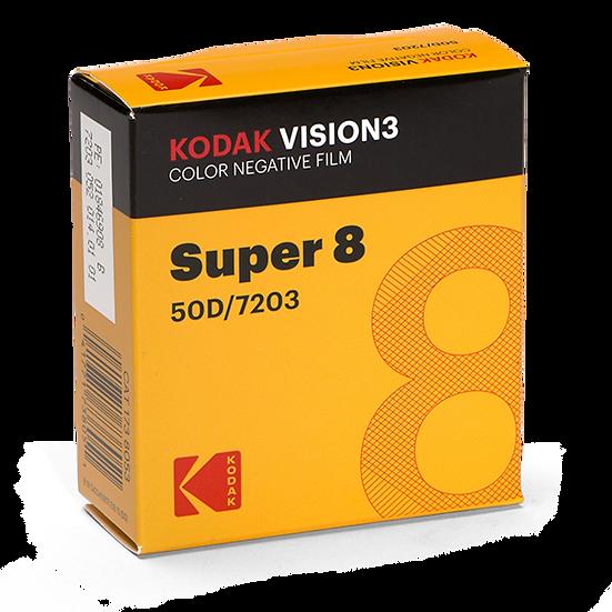 50D 7203: KODAK SUPER 8