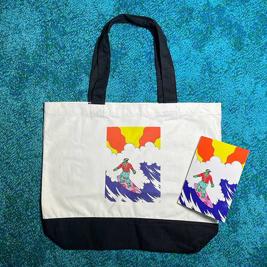 Monster Valley X Shelley Botticelli Tote + Card