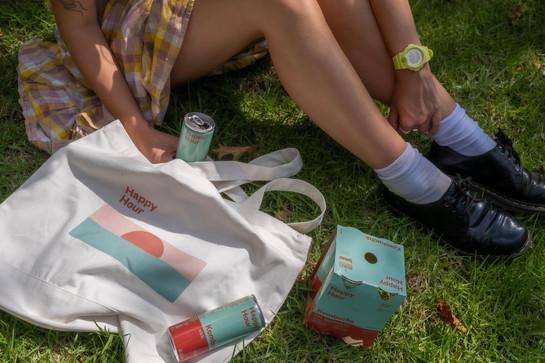 Happy Hour: Tote Bag