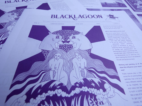 Monster Valley: Black Lagoon Zine