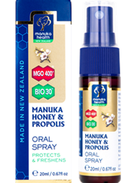 Manuka Honey & Propolis Oral Spray