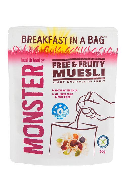 Free & Fruity Muesli 60 g