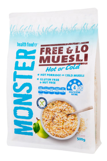 Free & Lo Muesli 500g for Diabetics