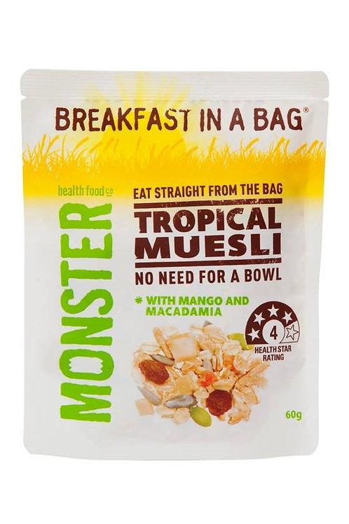 Tropical Muesli with Mango & Macadamia 60g
