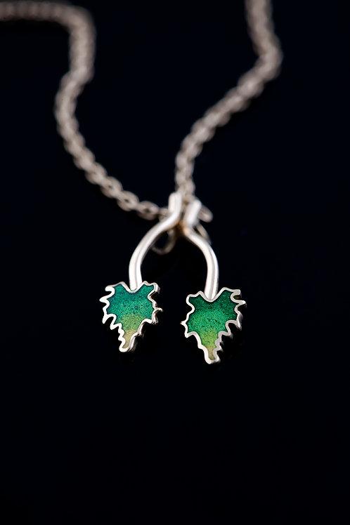 Yaprak Kolye Ucu  //  Leaf Pendant