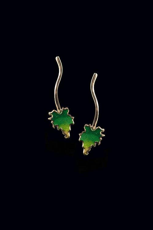 Yaprak Küpe // Leaf Earring