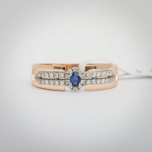 Bosphourus of Love - Sapphire Ring