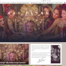 Abi Flynn website