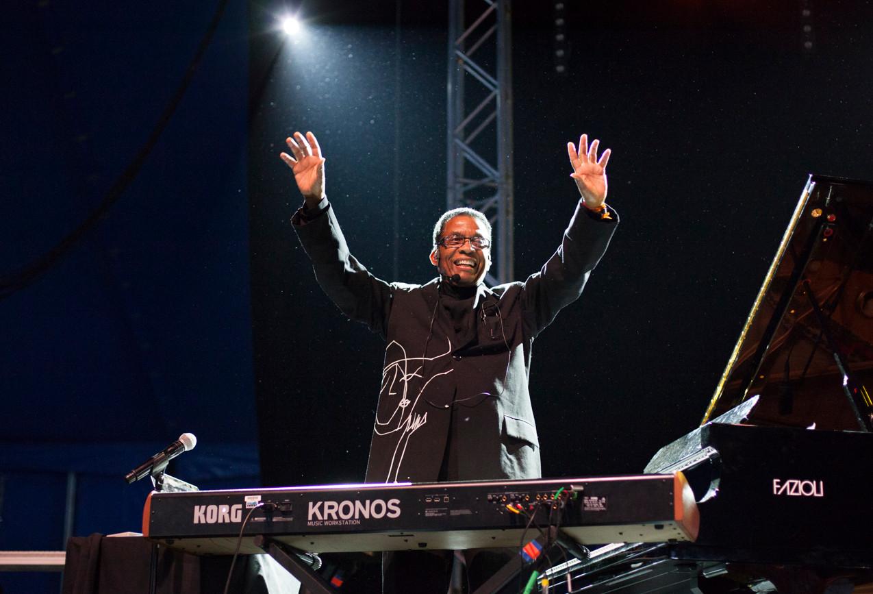 Herbie Hancock, Photo by Gili Dailes