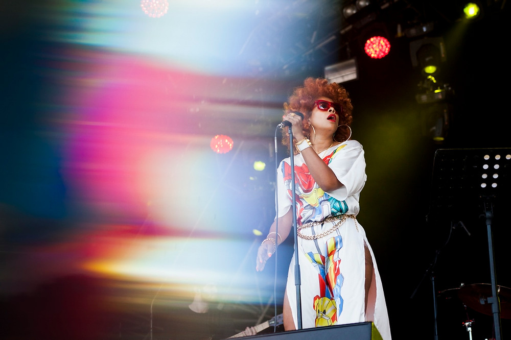 Kelis. Photo by Gili Dailes