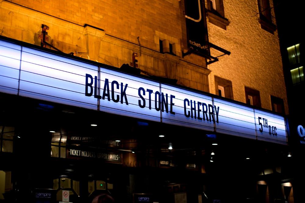 Black Stone Cherry. Photo by Gili Dailes