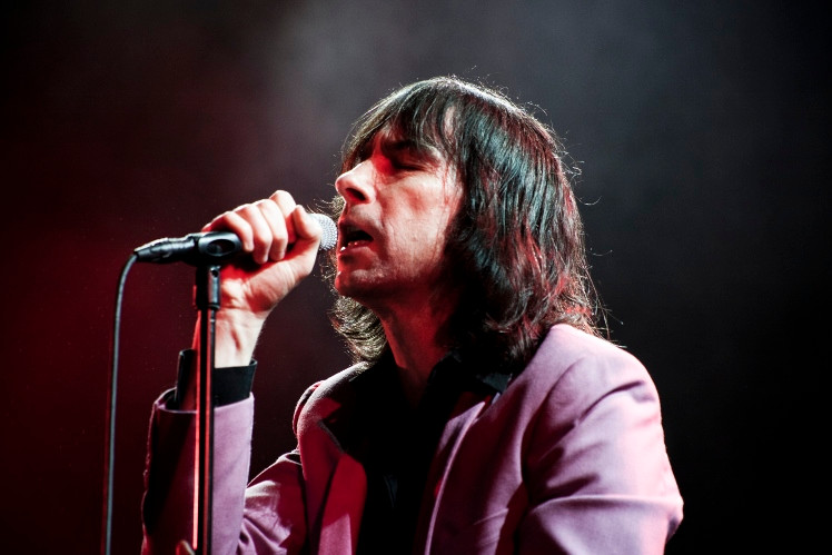 Primal Scream. Photo by Gili Dailes