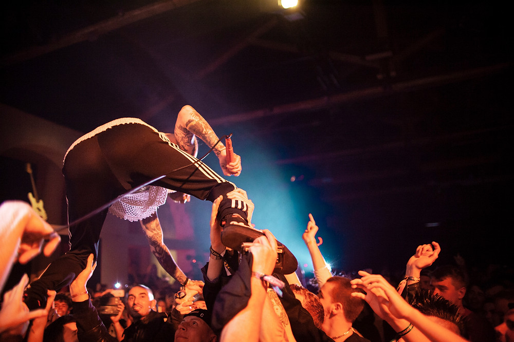 Frank Carter & The Rattlesnakes, photo by Gili Dailes