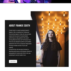 Frankie South website