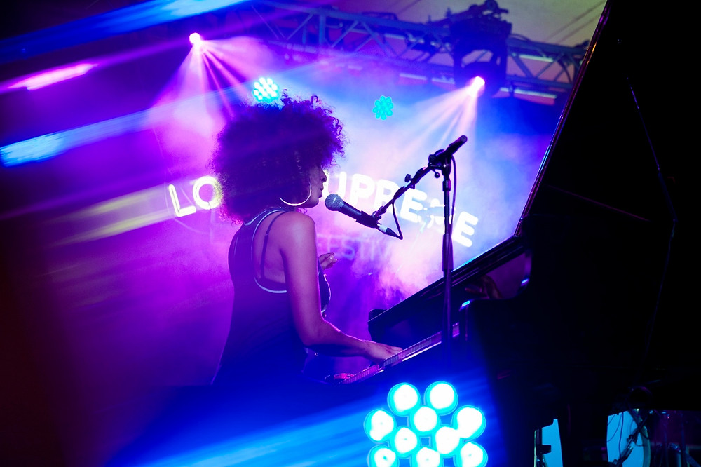 Kandace Springs. Photo by Gili Dailes