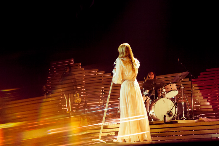 Florence + The Machine at Brighton Centre, photo by Gili Dailes