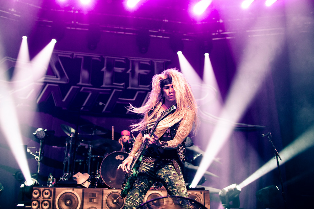 Steel Panther, photo by Gili Dailes