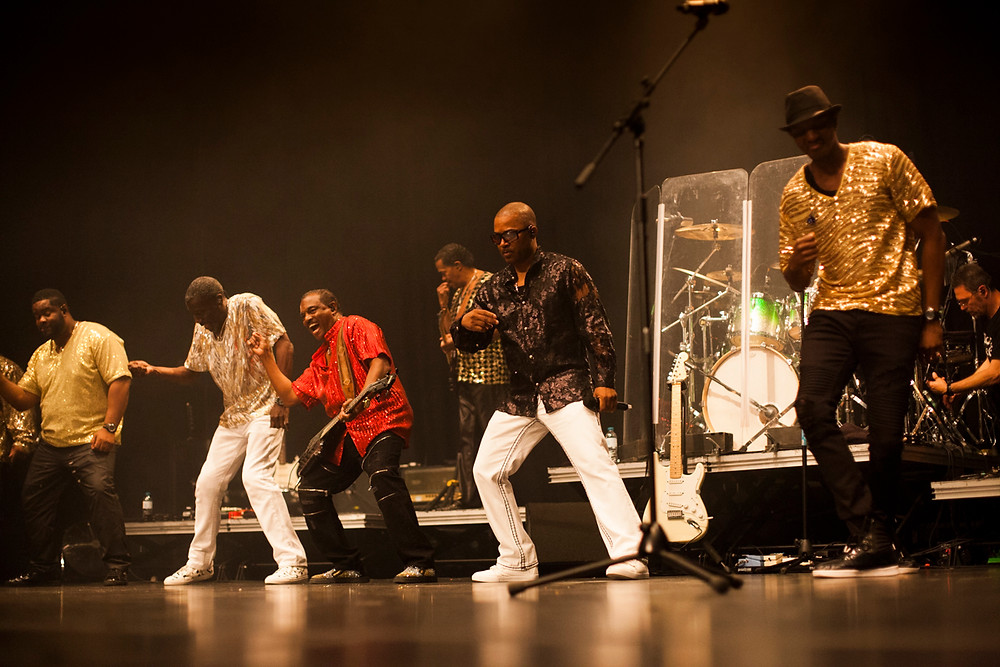 Kool & the Gang, photo by Gili Dailes